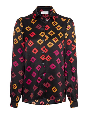 Load image into Gallery viewer, FABIENNE CHAPOT CHAKA CANDY BLOUSE BLACK