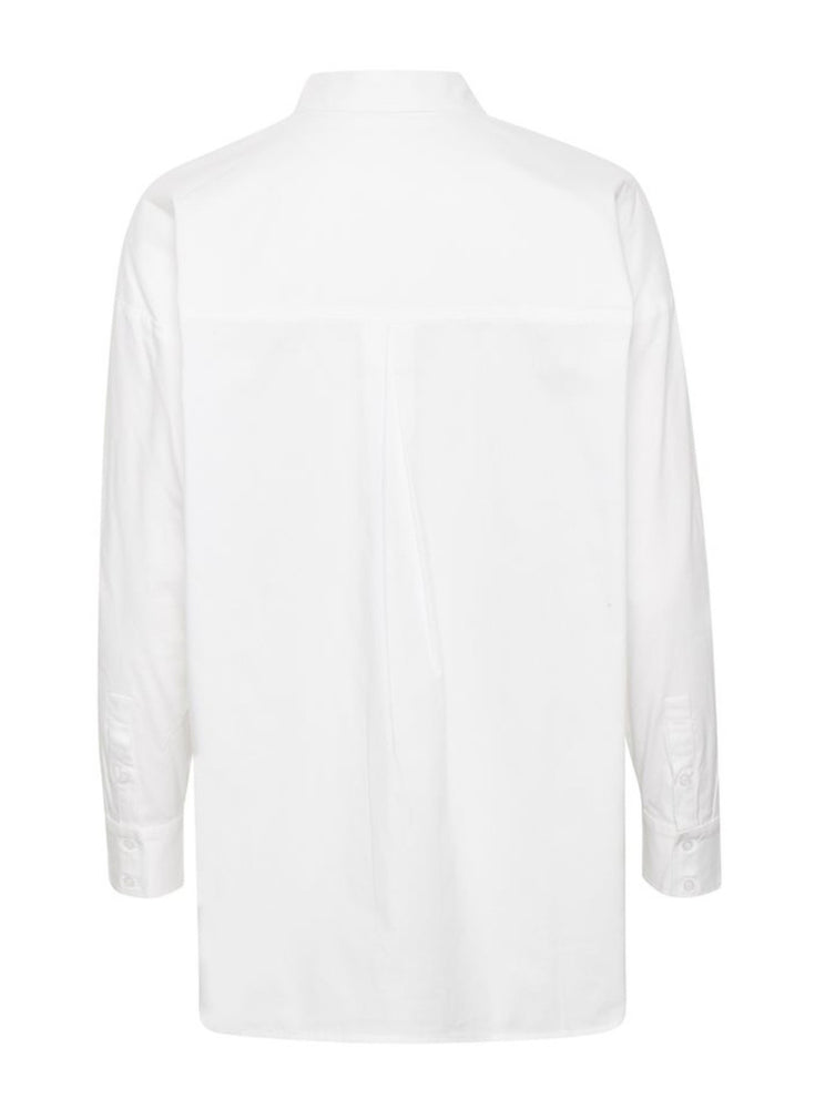 Load image into Gallery viewer, GESTUZ IBBYGZ OVERSIZED SHIRT NOOS HVIT