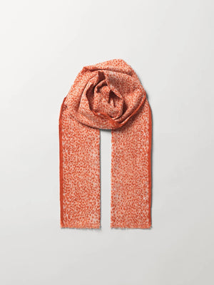 Load image into Gallery viewer, BECKSØNDERGAARD WATERLEO CORGA SCARF PEACH