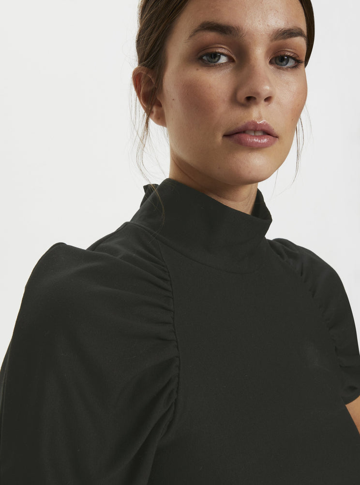 GESTUZ RIFAGZ SS TURTLENECK BLACK