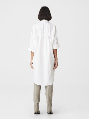 GESTUZ HALIOGZ SHIRT DRESS XENON BLUE