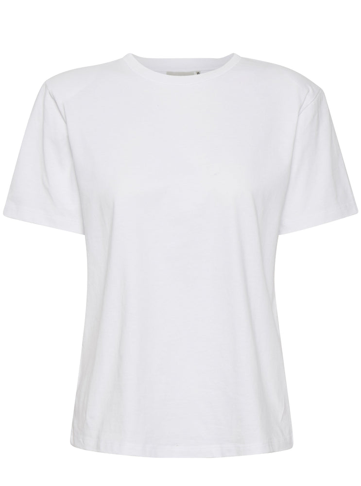 Load image into Gallery viewer, GESTUZ JORYGZ TEE BRIGHT WHITE
