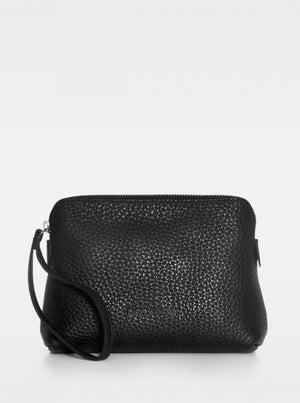 DECADENT HANNAH MAKEUP PURSE BLACK