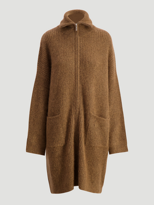 HOLZWEILER LUND KNIT CARDIGAN BROWN