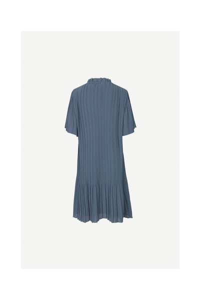 SAMSØE SAMSØE LADY SS DRESS BLUE MIRAGE