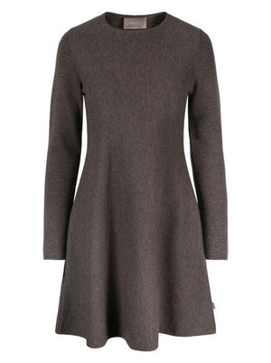 ELLA&IL CECILIE MERINO DRESS BROWN