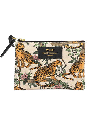 WOUF LARGE POUCH LAZY JUNGLE