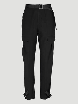 HOLZWEILER SKUNK TROUSERS BLACK