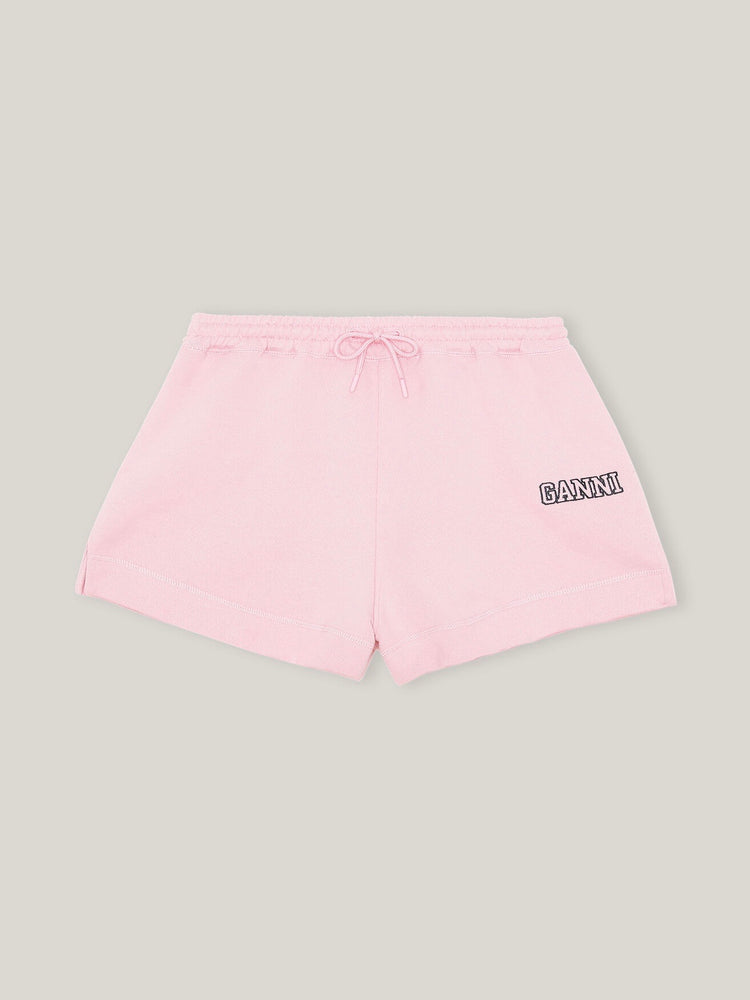 Load image into Gallery viewer, GANNI ISOLI DRAWSTRING SHORTS SWEET LILAC