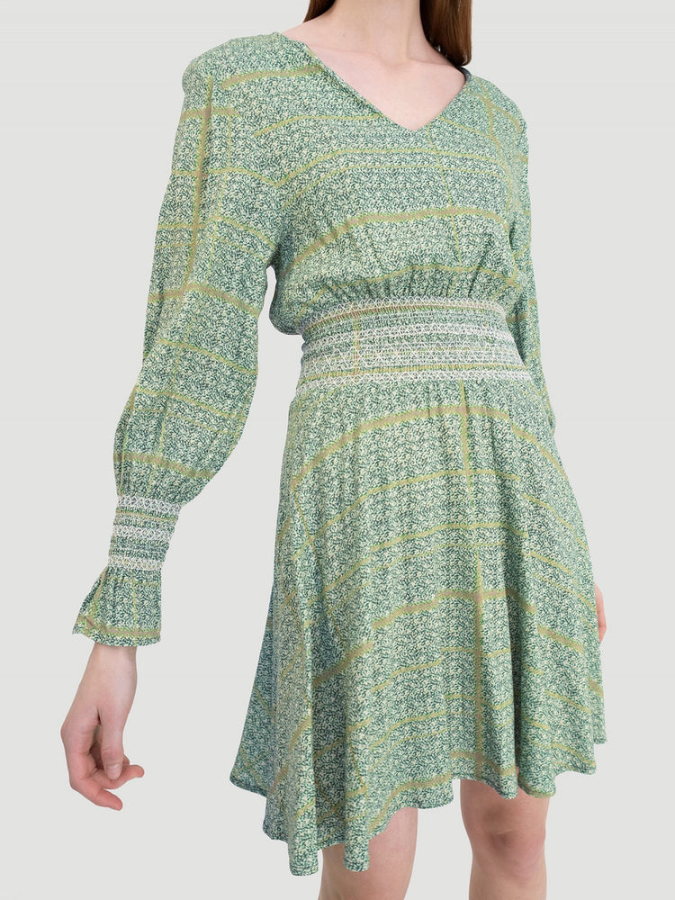 HOLZWEILER STIEN DRESS GREEN