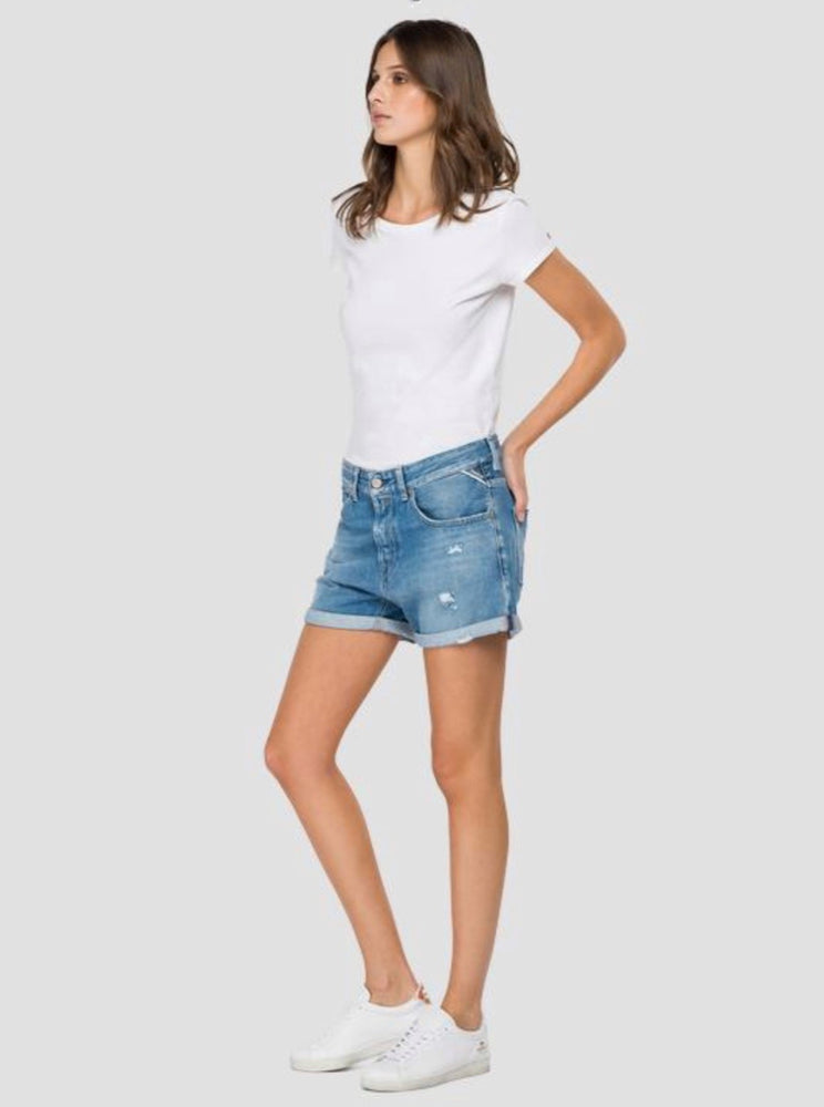 Load image into Gallery viewer, REPLAY ANYTA SHORTS DENIM