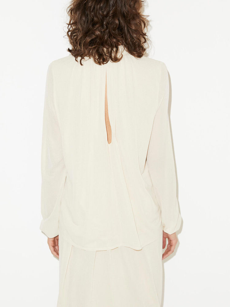 Load image into Gallery viewer, MALENE BIRGER VINEUIL TOPP BEIGE