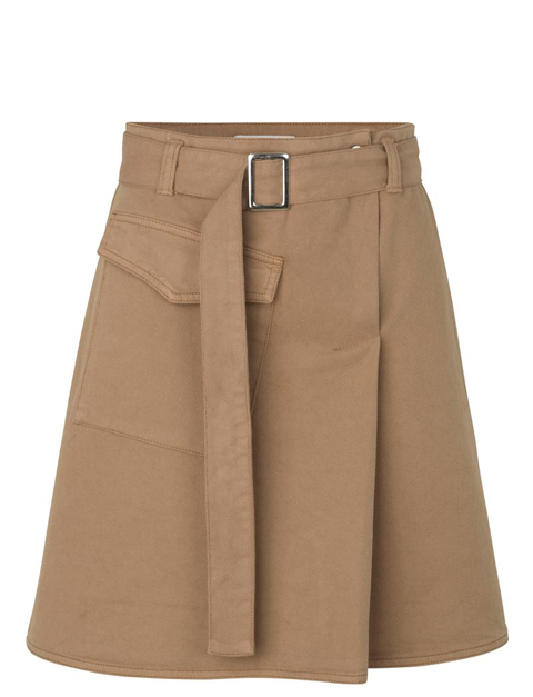 JUST FEMALE MATHILDE SKIRT BRUNT