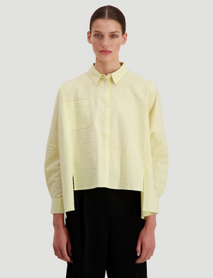 HOLZWEILER SON SHIRT LIGHT YELLOW