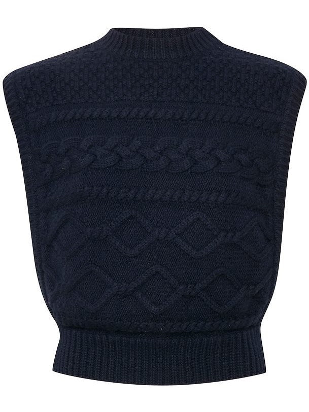 Load image into Gallery viewer, GESTUZ LUPIAGZ WAISTCOAT MA20 VEST BLÅ