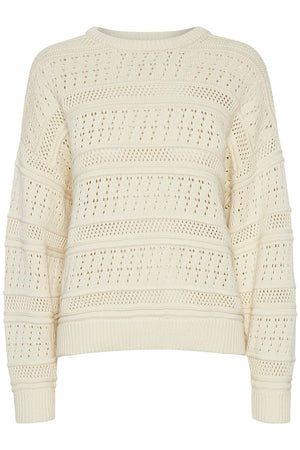 Load image into Gallery viewer, GESTUZ BOBOGZ PULLOVER OFF WHITE