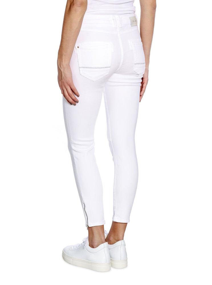 MOS MOSH NAOMI SHADE WHITE JEANS CROPPED
