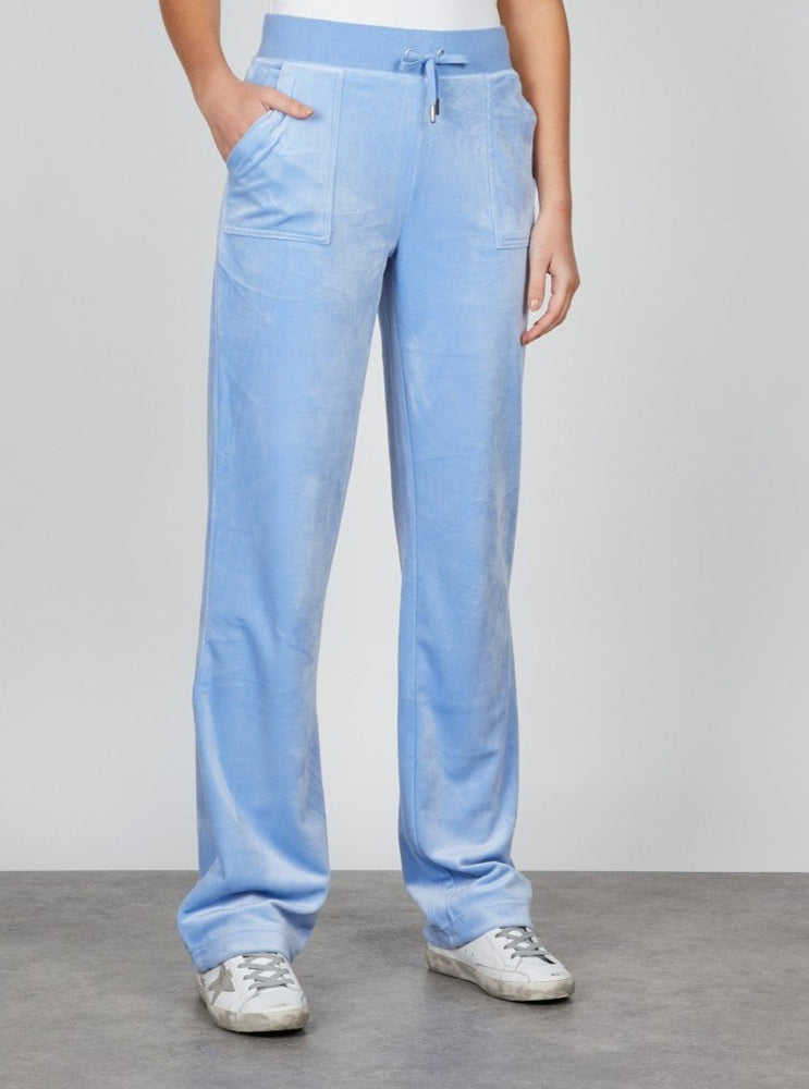 JUICY COUTURE VELOUR PANT ROBIA BLUE