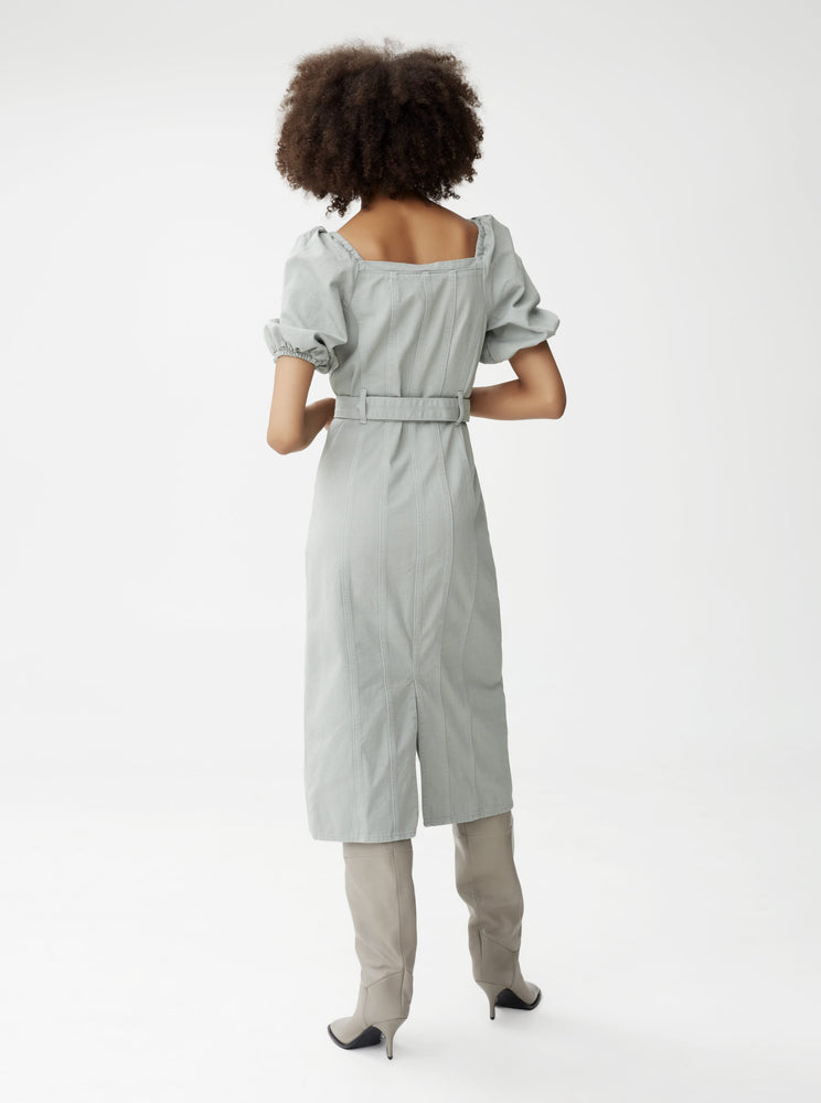 GESTUZ BELLIOGZ DRESS SLATE GRAY