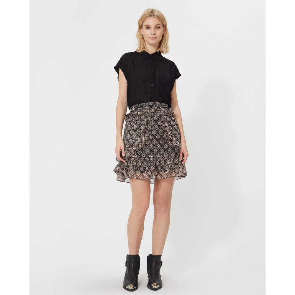 SOFIE SCHNOOR SKIRT BLACK