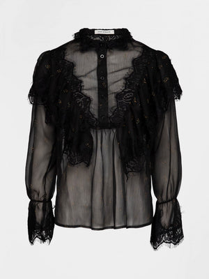 Load image into Gallery viewer, SOFIE SCHNOOR BLOUSE SORT