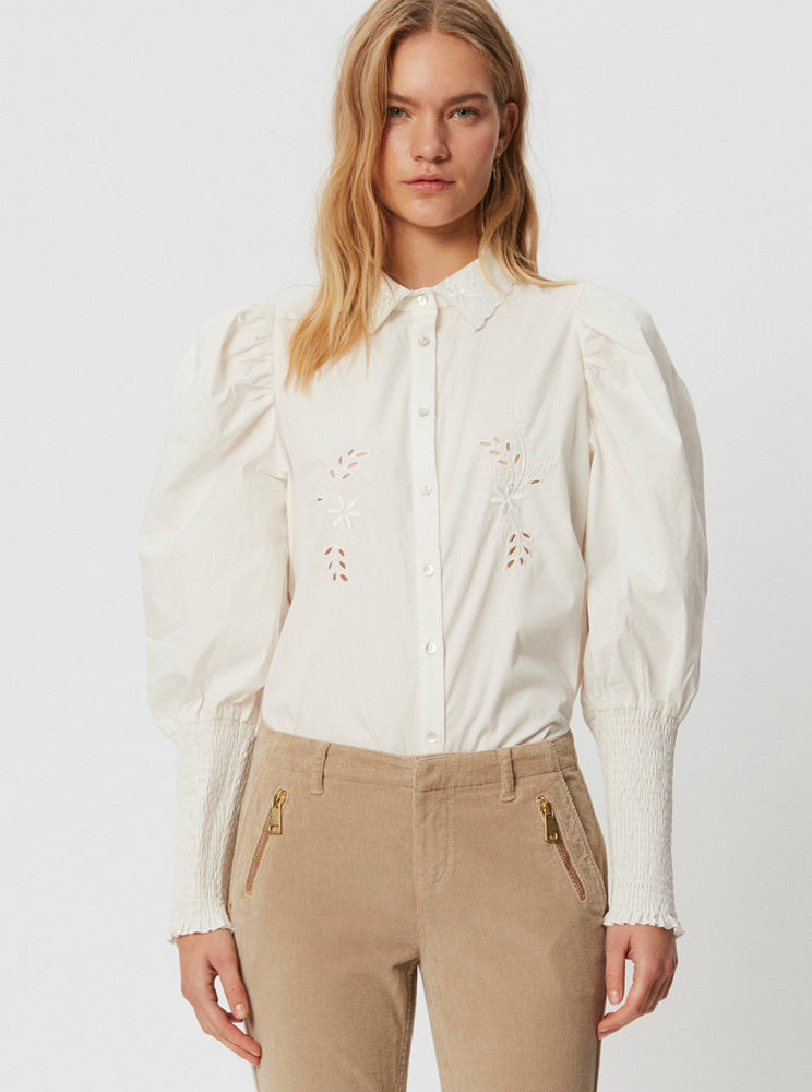 Load image into Gallery viewer, SOFIE SCHNOOR BLUSE OFFWHITE