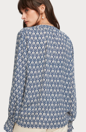 Load image into Gallery viewer, SCOTCH&SODA WRAP OVER TOP 0217