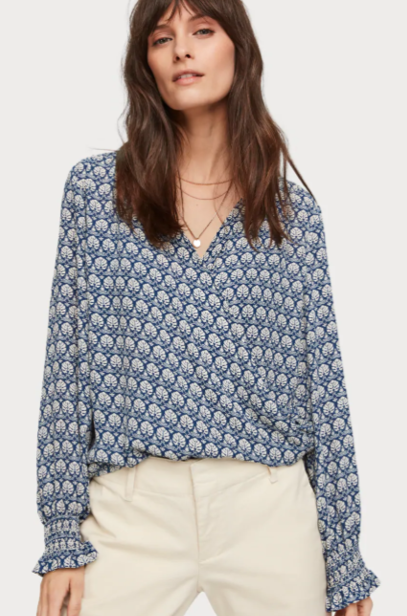 SCOTCH&SODA WRAP OVER TOP 0217
