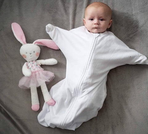 Angel Sleep Sack - White