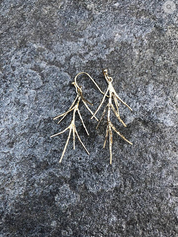 Winter Twig Earrings