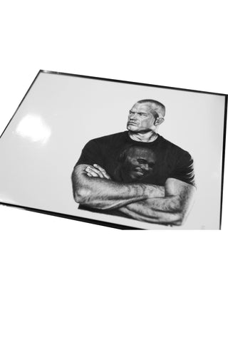 Jocko Black & White Drawing Print (From Drawings Without Borders)
