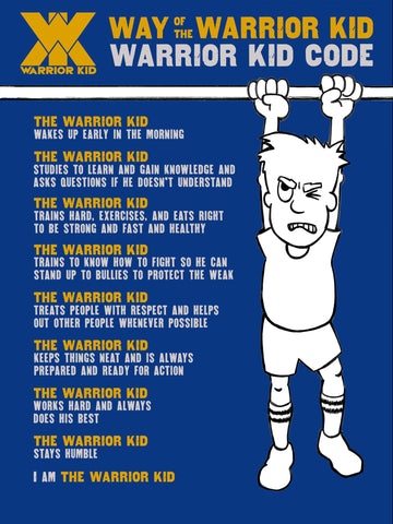 Warrior Kid Code Poster 24 x 32""