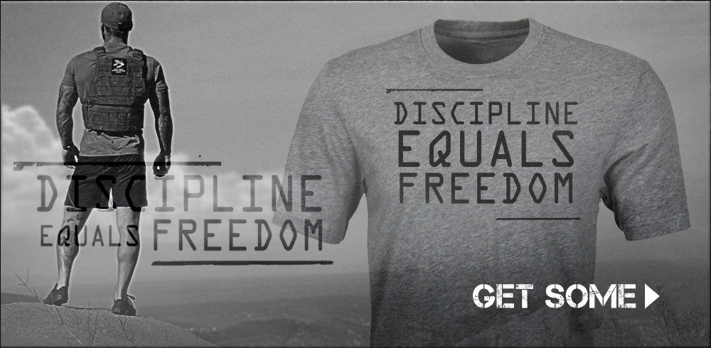 Discipline Equals Freedom - T-Shirt