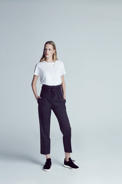 Grace High Waist Pant - Black