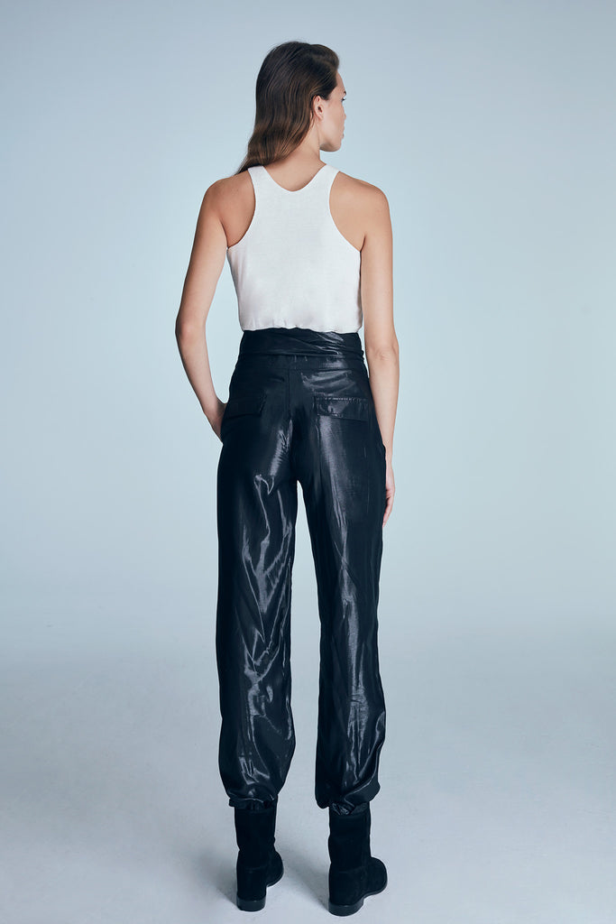 ILLUSION PANT / BLACK
