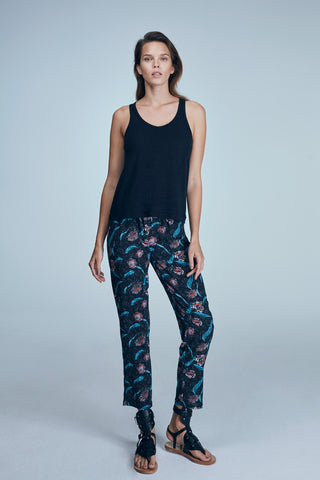 AKEL PANT / MULTICOLOR - ANTHRACITE