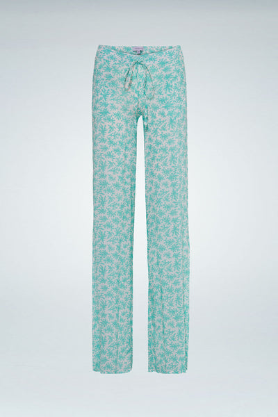 Coral Pant - Water Green