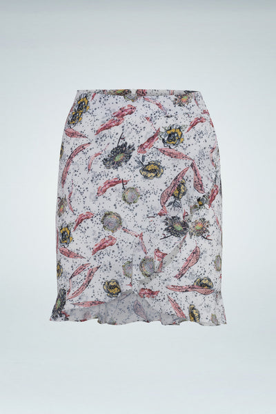 Gemma Skirt - Multicolor/Ecru