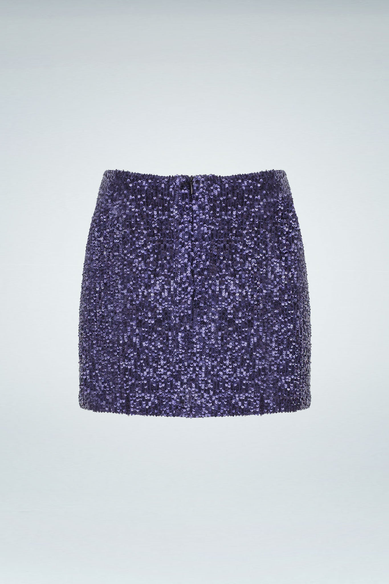 Sequinned Skirt - Navy Blue