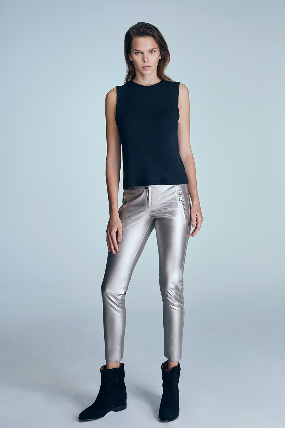 Vivid Pant - Metallic Gold