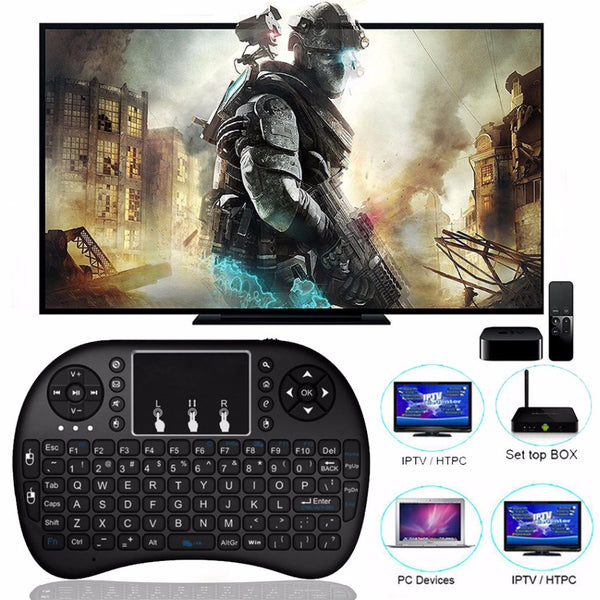 Mini Wireless Keyboard - Best Remote For Android TV Box and More