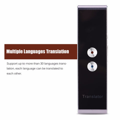 Multi language voice language translator