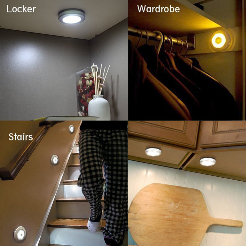 Smart Body Motion Sensor Activated Wall Light