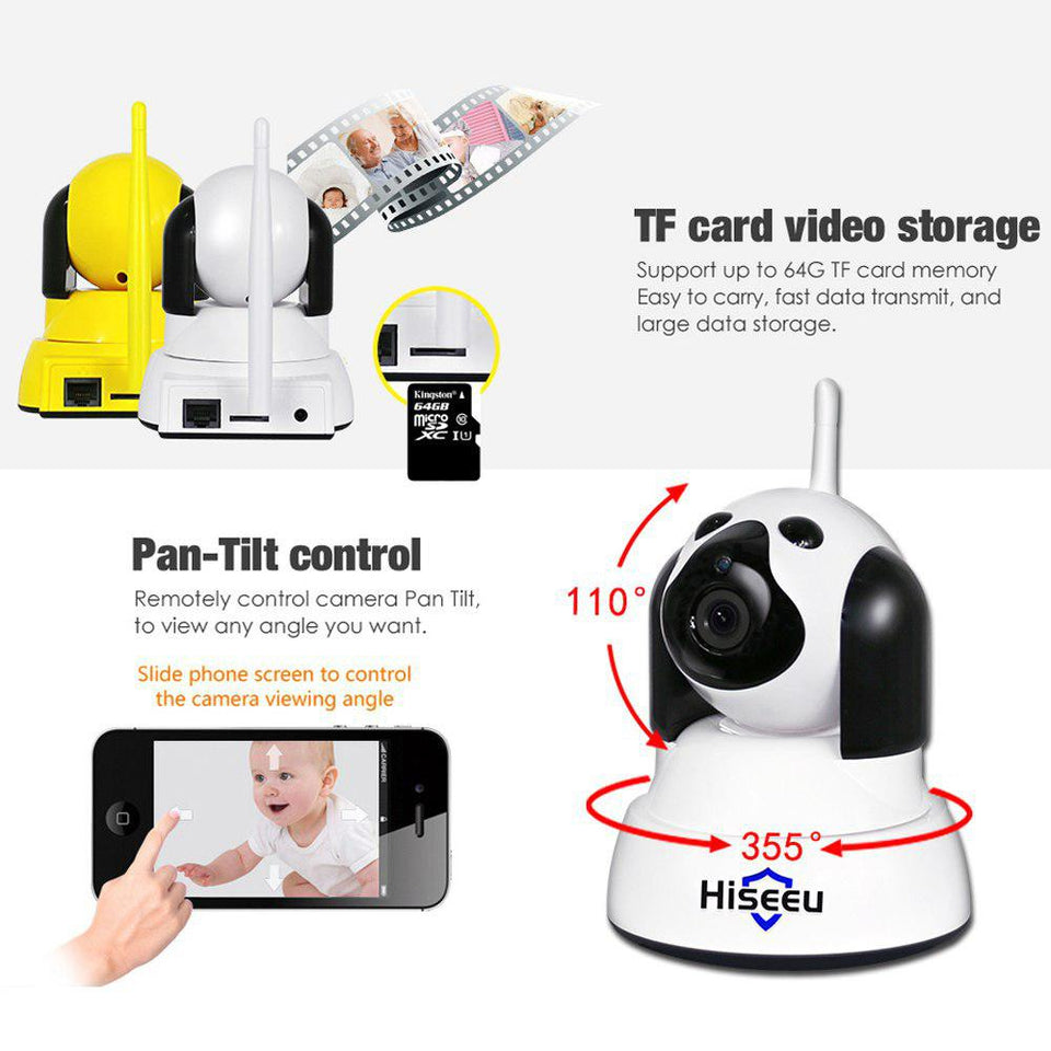 Smart Dog Camera - Intelligent Home Guard IP Camera!