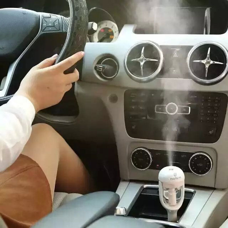 CAR AIR DIFFUSER AND PURIFIER