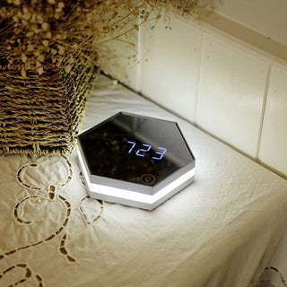 Multifunction Clock - Wall Mirror Digital Alarm For Your Morning!