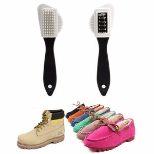 3 SIDE CLEANING SHOE BRUSH