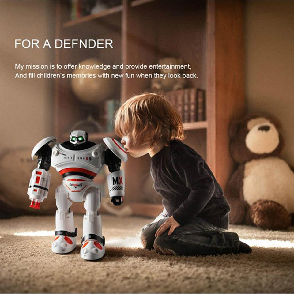 Smart Robot Defender - Get A Special Robot Defender For More Experience!