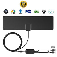 HOTTEST DISCOUNT 50%! NEWEST! HDTV Antenna with Amplifier Signal Booster Indoor