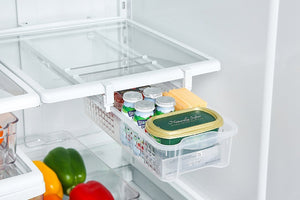 Fridge Space Saver Organizer -  Gives You An Extra Storage Place!